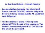 la guarda del s bado sabbath keeping25