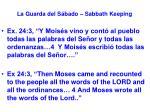 la guarda del s bado sabbath keeping27