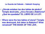 la guarda del s bado sabbath keeping38