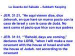 la guarda del s bado sabbath keeping40