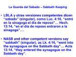 la guarda del s bado sabbath keeping52