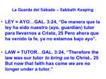 la guarda del s bado sabbath keeping57
