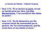 la guarda del s bado sabbath keeping8
