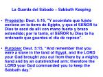 la guarda del s bado sabbath keeping9