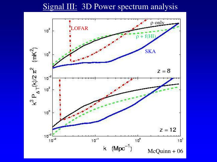 Signal III:
