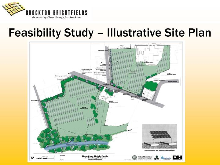 Feasibility Study – Illustrative Site Plan