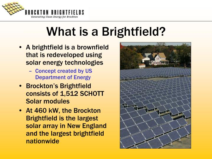 What is a brightfield