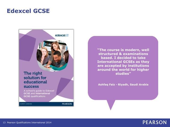 Edexcel GCSE