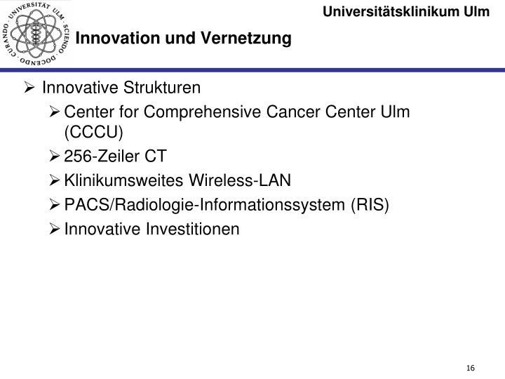 Innovative Strukturen