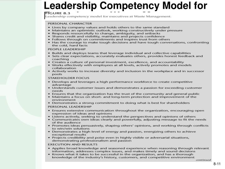 health leadership competency model Assess manager strengths and development needs across 15 key leadership  competencies identified specifically for health care managers.