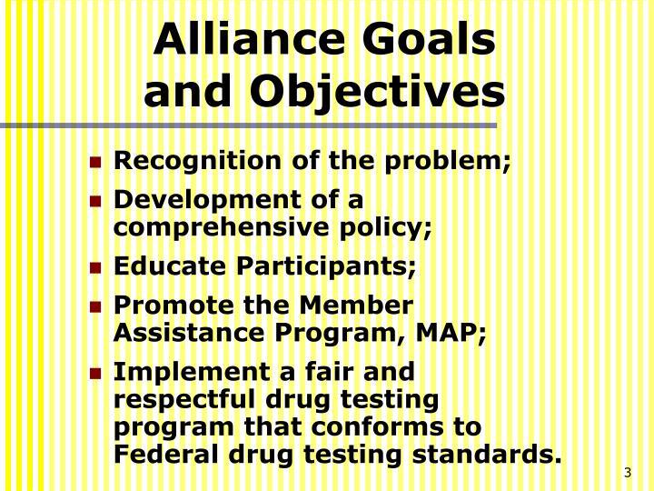 Alliance Goals