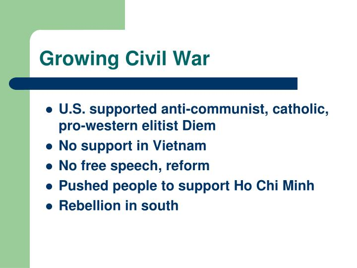 Growing Civil War