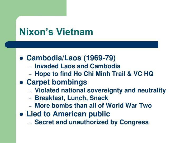 Nixon's Vietnam