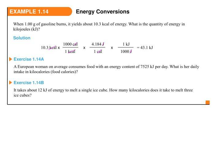 EXAMPLE 1.14