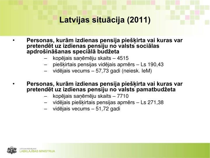 Latvijas situācija (2011)