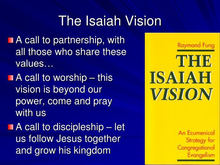 The Isaiah Vision