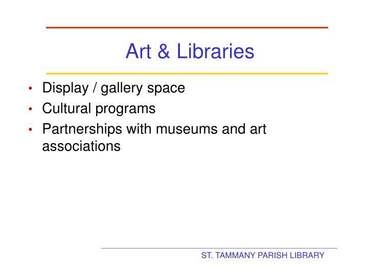 Art & Libraries