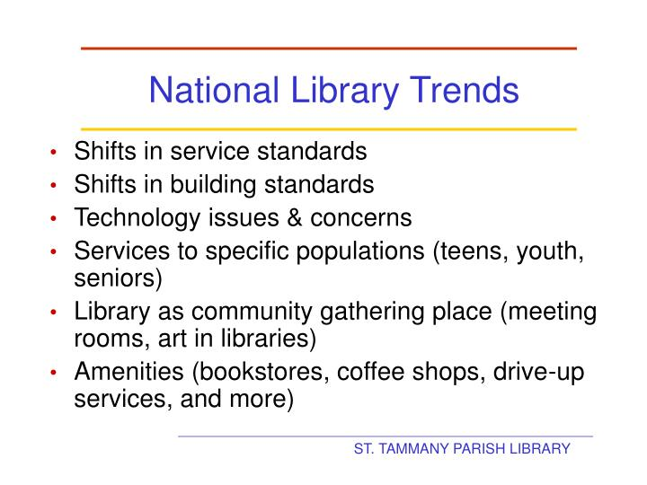 National Library Trends