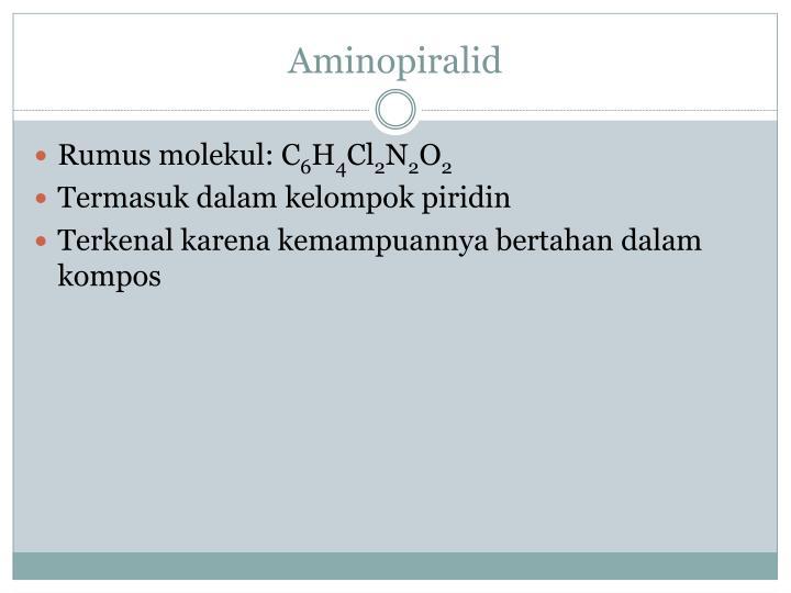 Aminopiralid