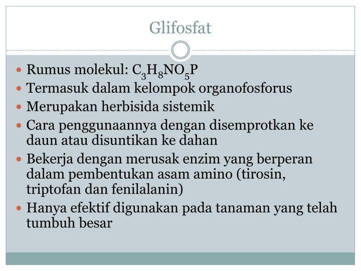 Glifosfat