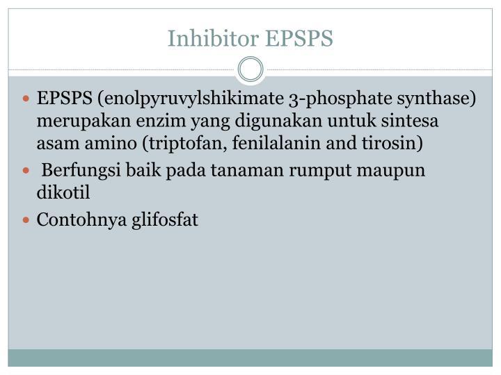 Inhibitor EPSPS