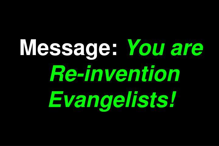 Message: