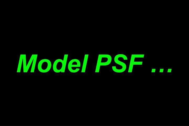 Model PSF