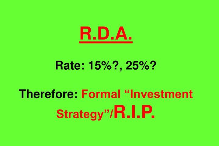 R.D.A.