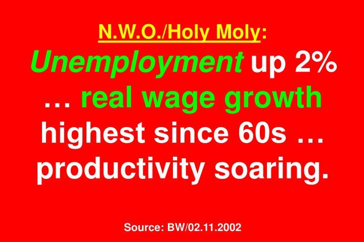 N.W.O./Holy Moly