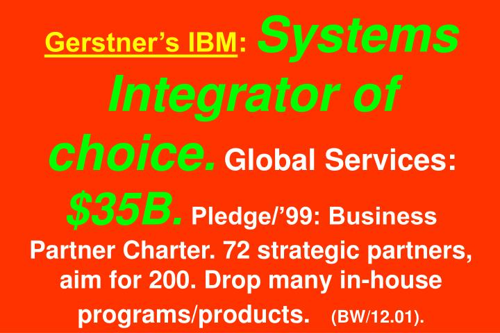 Gerstners IBM