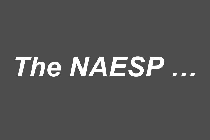 The NAESP
