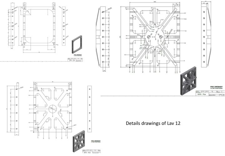 Details drawings of