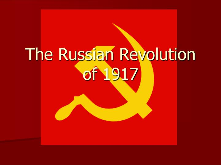 the long road leading to the russian revolution of 1917