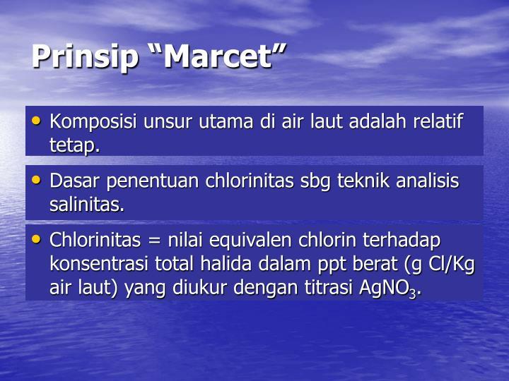"Prinsip ""Marcet"""
