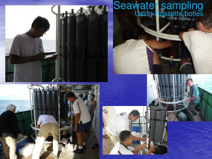 Seawater sampling