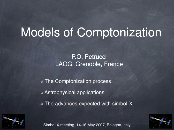Models of Comptonization