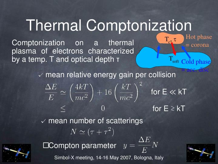 Thermal comptonization