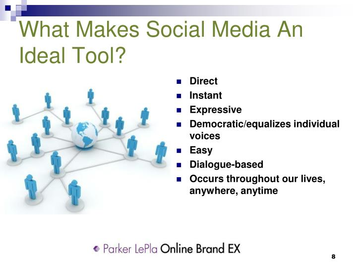 What Makes Social Media An Ideal Tool?