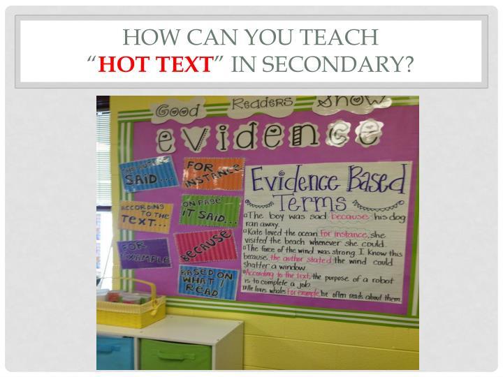 How can you teach