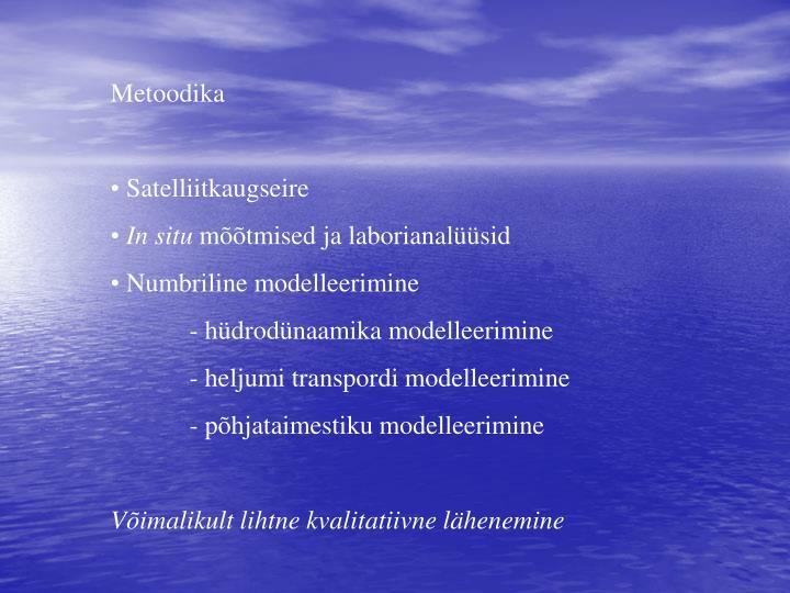 Metoodika