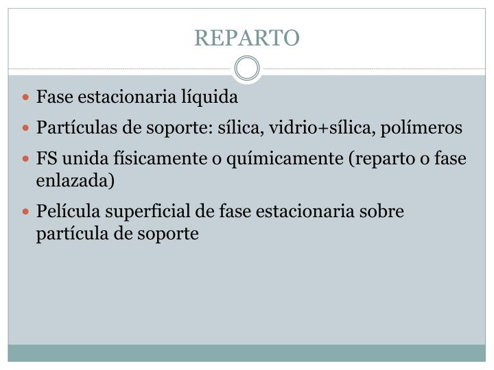 REPARTO