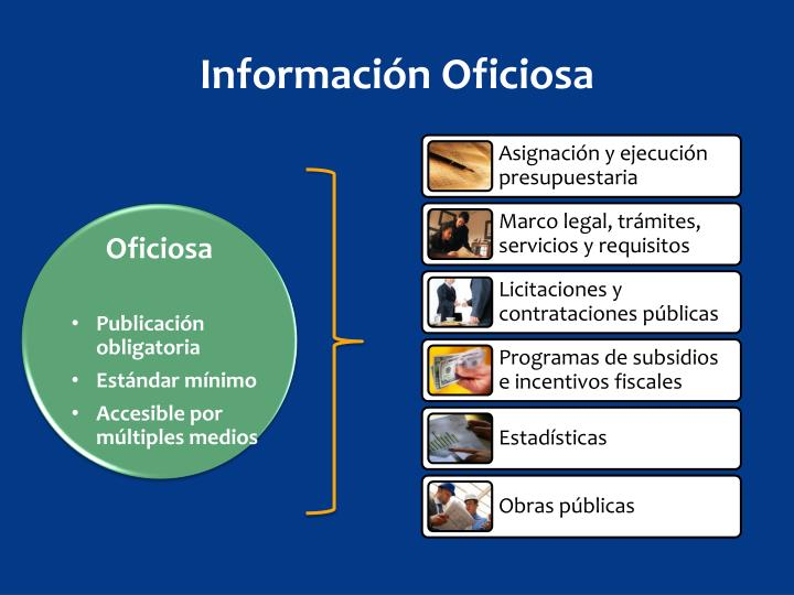 Información Oficiosa