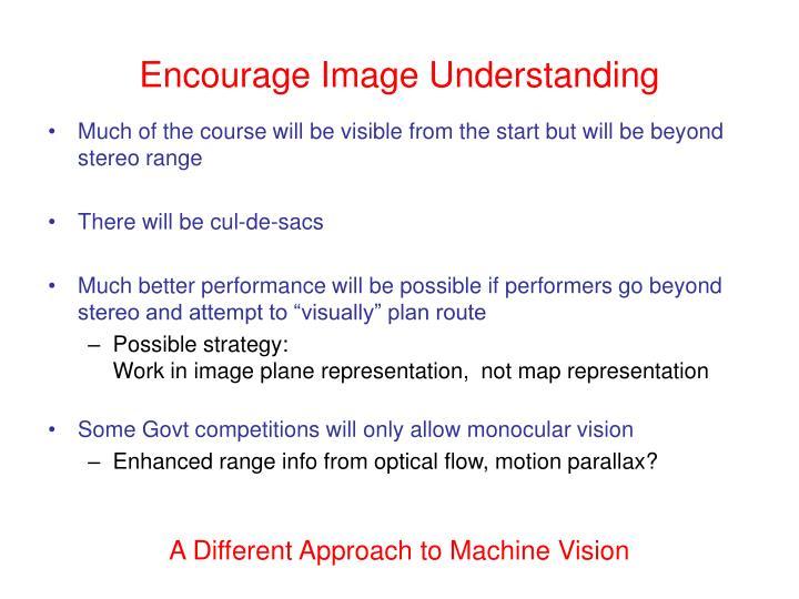Encourage Image Understanding