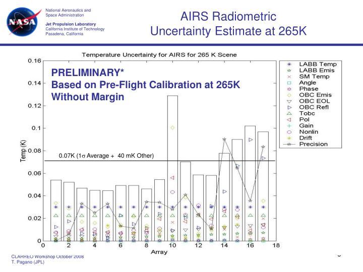 AIRS Radiometric