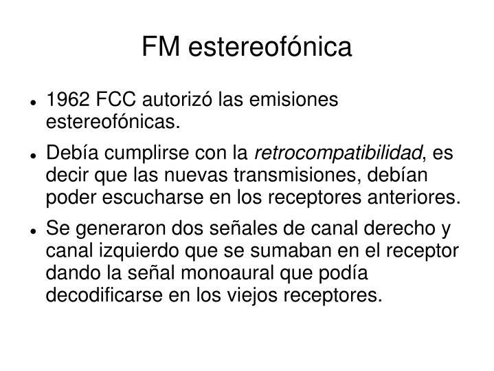 FM estereofónica
