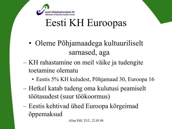 Eesti KH Euroopas
