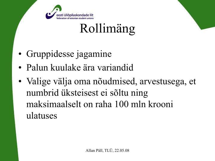 Rollimäng