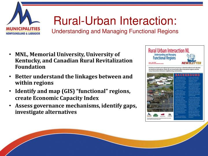Rural-Urban Interaction: