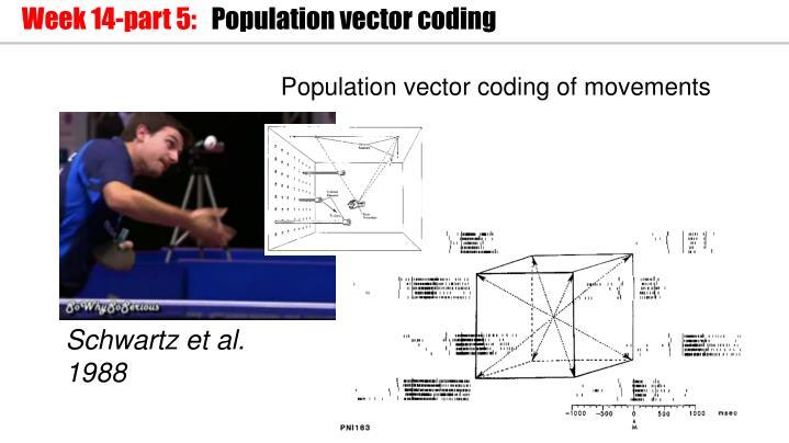 Population vector