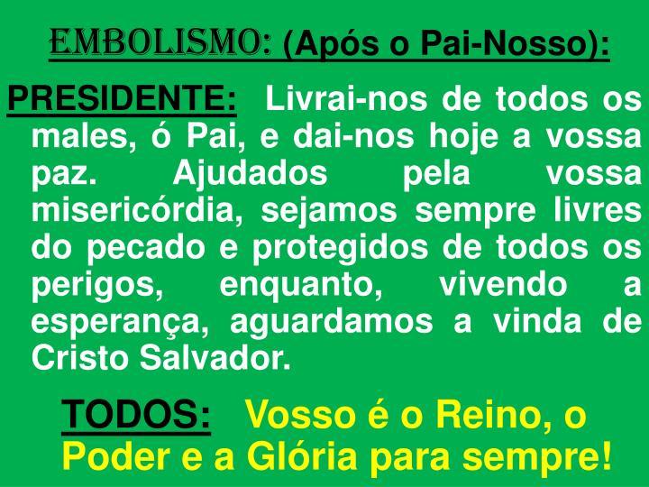 EMBOLISMO: